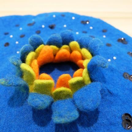 beret bleu